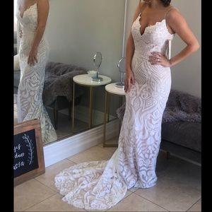 Wedding Dress by Ashley and Justine